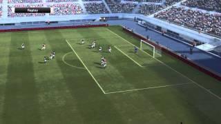 PES 2012 Gameplay (PS3) - Arsenal vs Aston Villa
