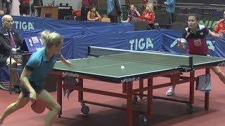 Valentina SABITOVA Vs Marina SHAVYIRINA 3 PLACE Moscow Championships 2014 Table Tennis Table Tennis