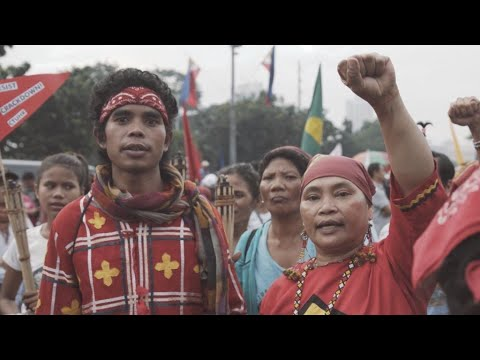 Video: Indigenous Filipinos risk their lives to defend their land