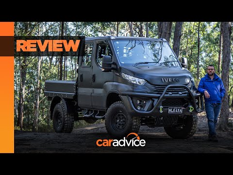 2019 Iveco Daily 4×4 review: the biggest and baddest 4×4 money can buy? | CarAdvice