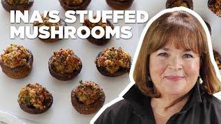Barefoot Contessa Makes Sausage-Stuffed Mushrooms | Food Network