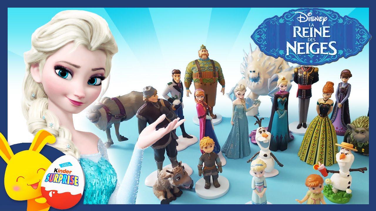 La reine des neiges les personnages en jouet une - Personnages reine des neiges ...
