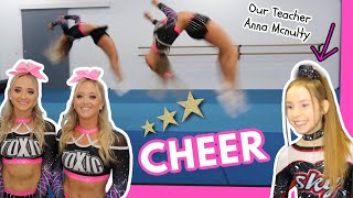 Our First Cheerleading Competition! Ft Anna McNulty!
