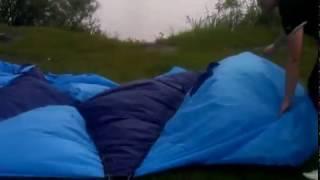 Обзор четырехместной палатки Jesolo 4 установка в реальном времен