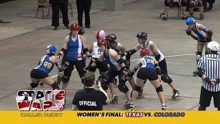 State Wars Roller Derby 2014: Texas vs. Colorado (women