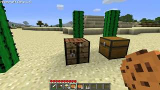 Minecraft Beta 1.4 Update Test Drive - Cocoa Beans and Cookies!