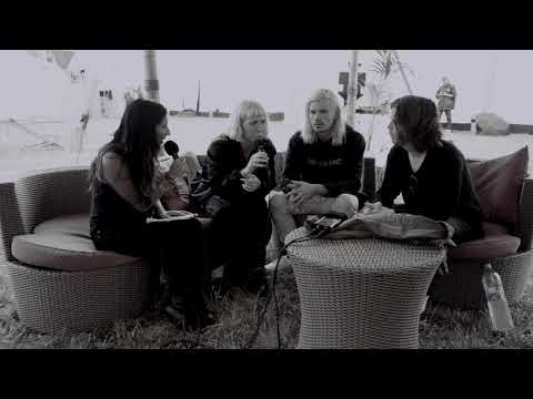 Grouplove - Sarah's Interview - Rock en Seine Festival
