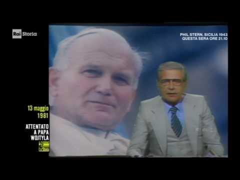 Tg1 Edizione Straordinaria 13-5-1981 - Attentato a Papa Wojityla