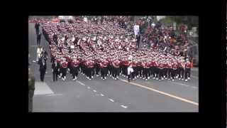 University Of Wisconsin Marching Band 2013 Rose Parade