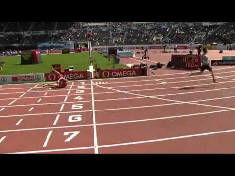 Sehife.Az - Бегун сломал ногу во время соревнования