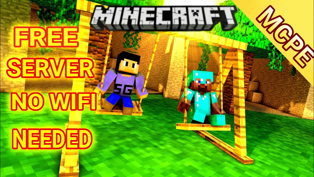 Minecraft free aternos server without wifi for bedrock and ...