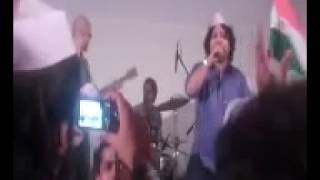 kailash kher at Azaad maidaan chakde phatte