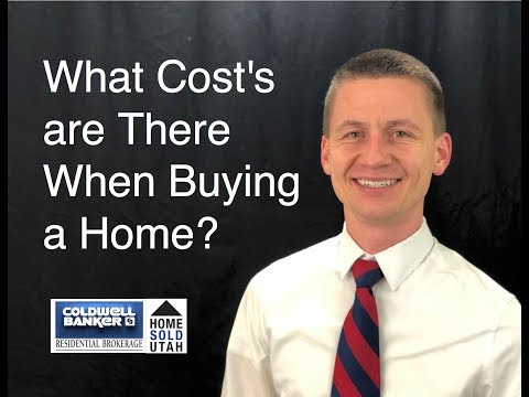 What Cost's Are There When Buying a Home?