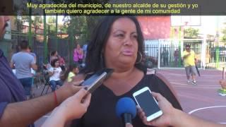 INAUGURACIÓN CANCHA PORTAL SAN ALBERTO