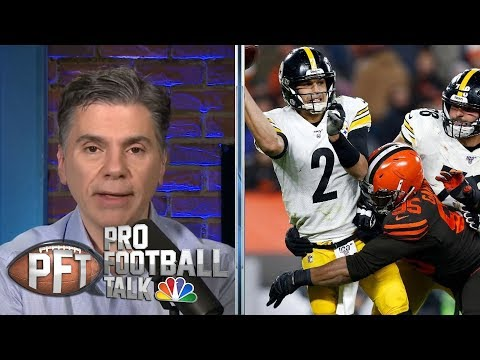 Cleveland Browns Roll Vs. Struggling Rudolph, Pittsburgh Steelers   Pro Football Talk   NBC Sports