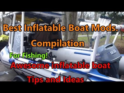 Inflatable Fishing Boat Tips And Mods For Fishing