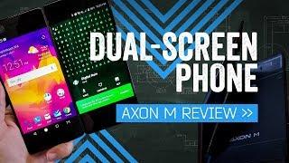 ZTE Axon M Review: Halfway Happy