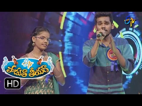Dhimmathirige Song | Sai Madhav&Sugandini Performance In ETV Padutha Theeyaga | 15th Jan2017