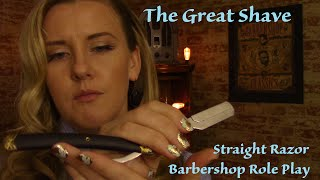 The Great Shave an ASMR Barbershop Role Play