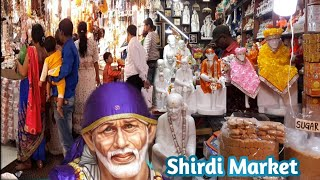 Market Near Shirdi Temple | The Market Around SAI BABA Temple | Street Food Shirdi | Shirdi Dham Day