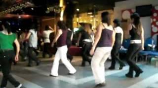 Cha Cha Conchita-St Thomas More Charity Line Dance (6-09-2009)