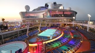 The largest cruise ship in the world - Harmony of the Seas, Day 2