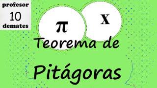 Teorema de pitágoras 01 ejercicios resueltos hipotenusa