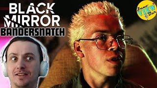 📺 BLACK MIRROR bandersnatch REACTION REVIEW