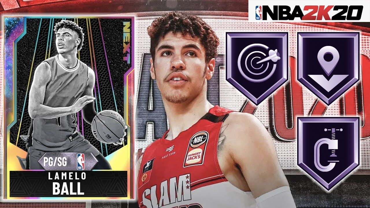 Galaxy Opal Next Lamelo Ball Gameplay Is He The Best Point Guard In Nba 2k20 Myteam Youtube