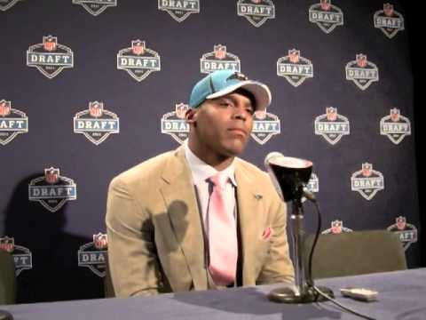Cameron Newton Interview - 2011 NFL Draft New York City