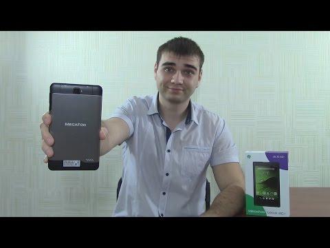 MegaFon Login 4 LTE обзор планшета!