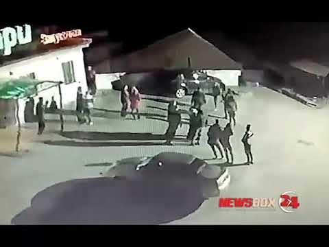 В Партизанске корпоратив полиции закончился массовой дракой с посетителями кафе