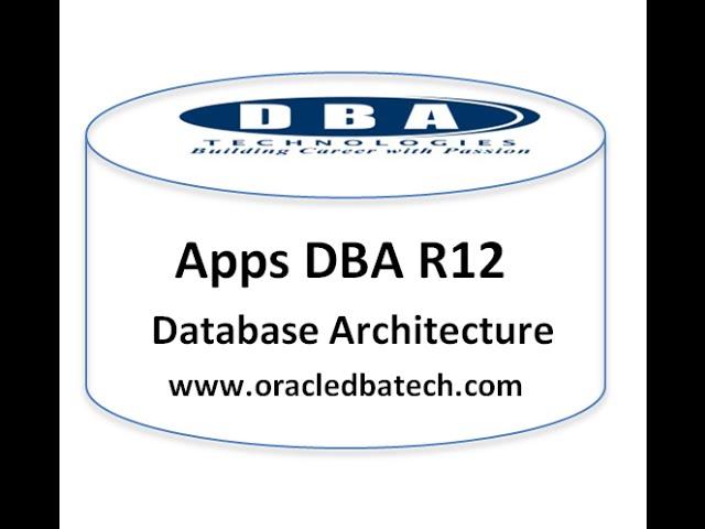 Apps DBA Architecture - Part 1