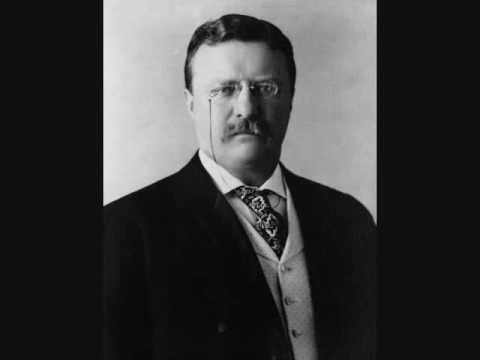 1912 US Election Campaign Speech Audio - Theodore Roosevelt 2 of 9