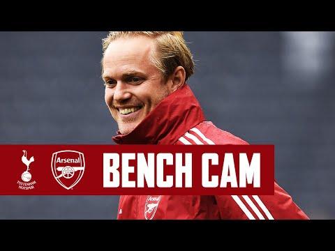 BENCH CAM | Tottenham vs Arsenal (0-4) | Jonas Eidevall's first match as head coach