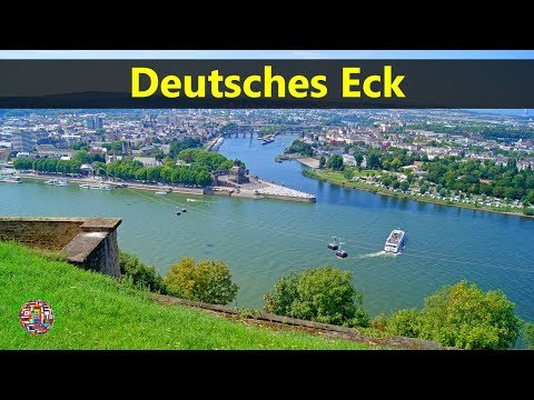 Best Tourist Attractions Places To Travel In Germany | Deutsches Eck Destination Spot