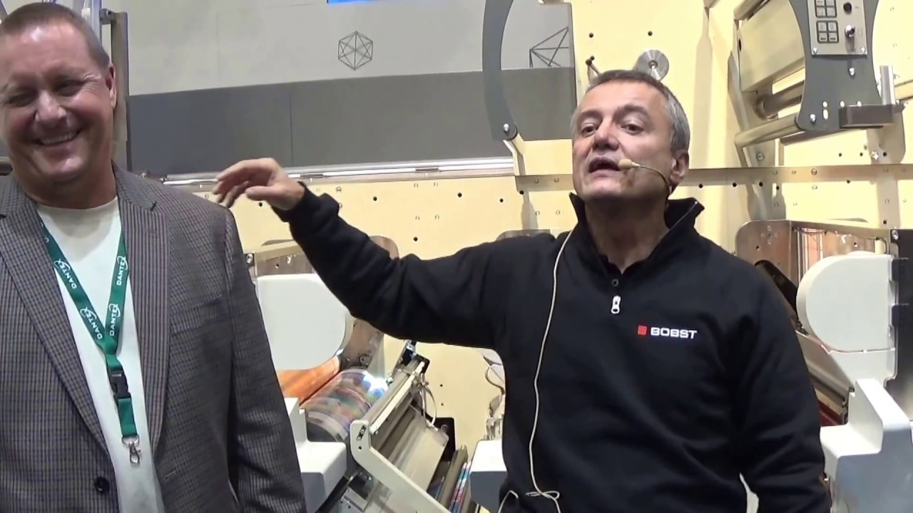 Color printing bobst - Bobst Explains Digital Flexo Technology At Labelexpo Europe 2016 12 31
