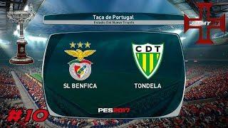 PES 2017 Rumo ao Estrelato #10 Taça de Portugal Benfica vs Tondela