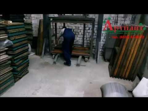 Как делать плитку из резиновой крошки