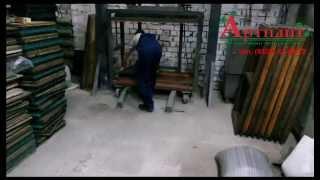 видео Производство резиновой крошки