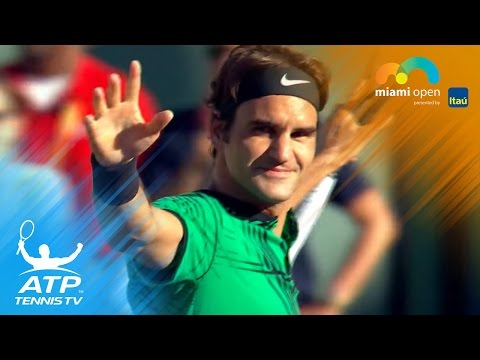 Roger Federer, Nick Kyrgios reach semi-finals | Miami Open 2017 Highlights Day 9