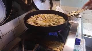 Balık pişirme sanatı (Barbun balığı)