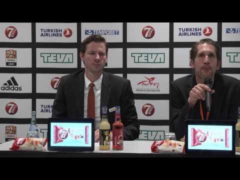 OZ.TV Pressekonferenz: Ulm - Jerusalem (EC)