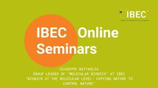 IBEC Seminar - Giuseppe Battaglia