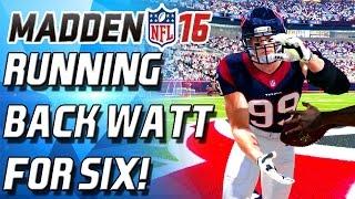 give me blocks running back jj watt debut madden 16 ultimate team