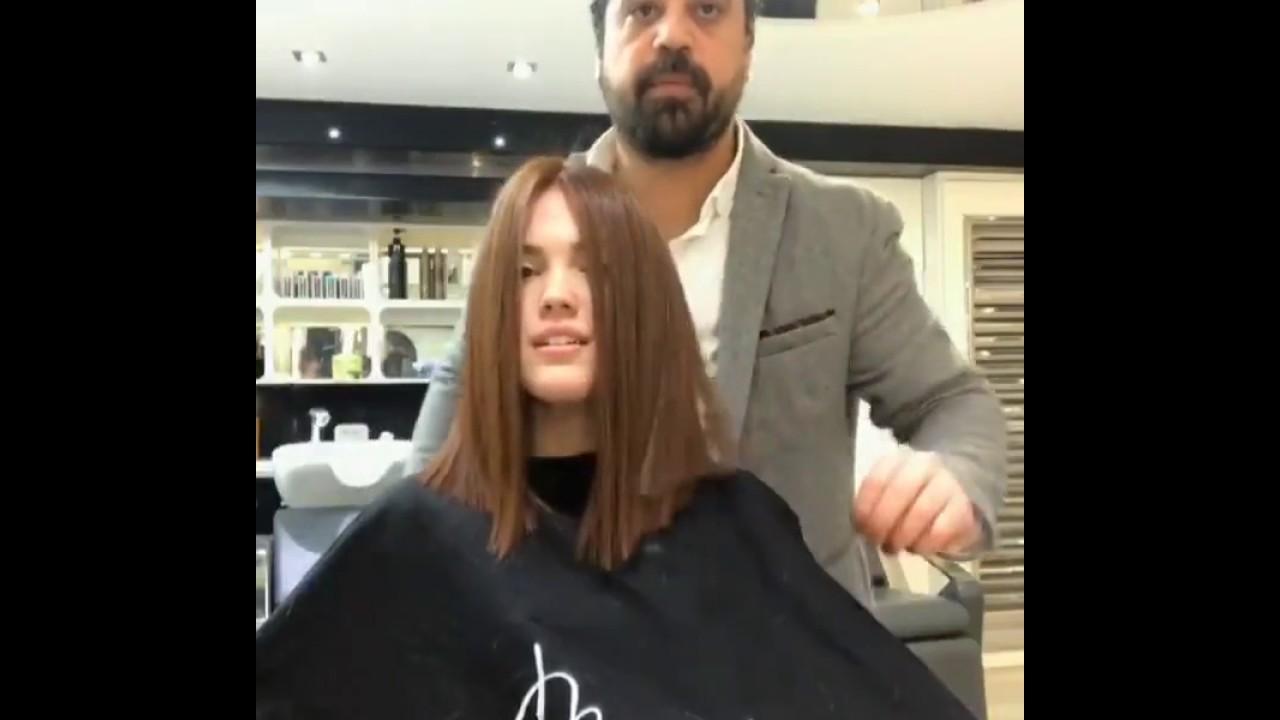 Lange Haare Beim Friseur Abrasieren Youtube