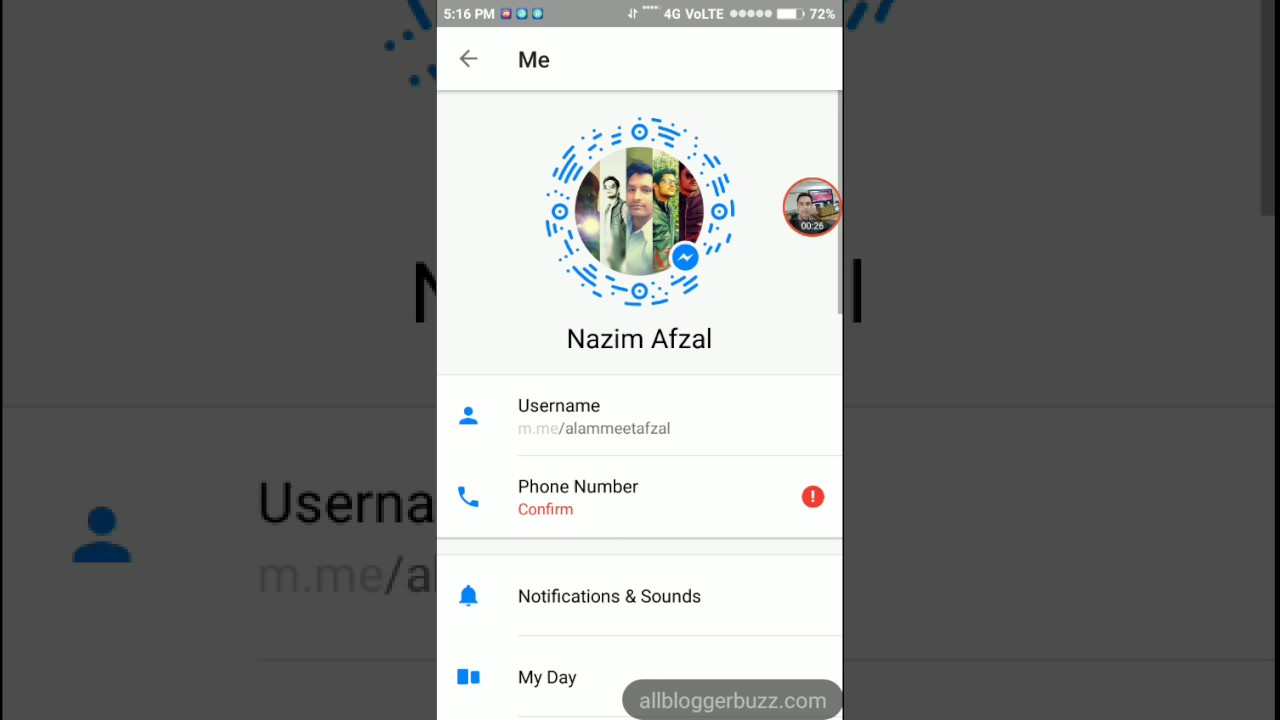 How To Remove An Account From Facebook Messenger Youtube