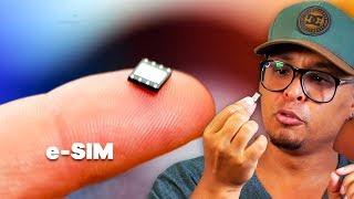 VAI RASTREAR O SMARTPHONE ROUBADO? Chip eSIM, já estamos usando!