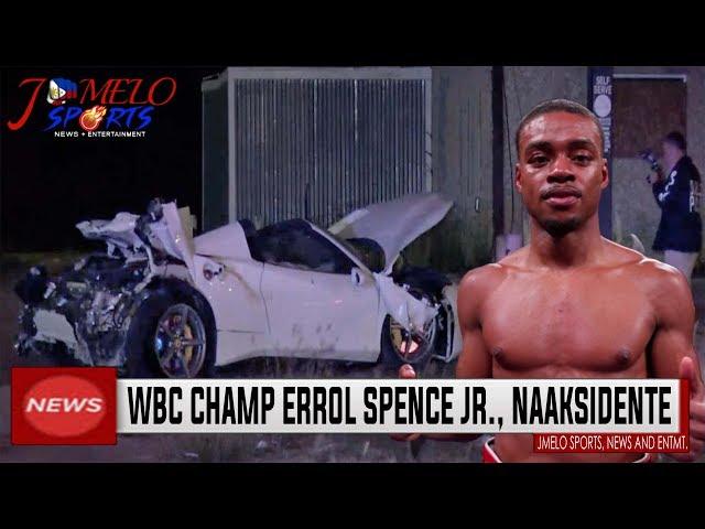 Spence Jr  Car Accident!! kaya Manny Pacquiao VS Errol Spence Jr 2020 FIGHT MALABO NA???