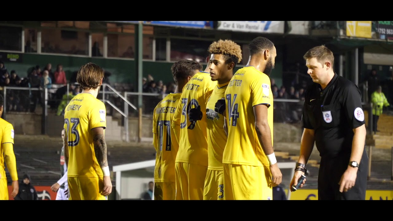 Matchday Moments with Visit Plymouth - AFC Wimbledon